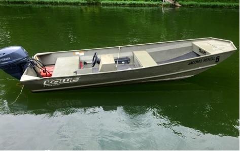 Lake Jacomo Marina - Jon Boat