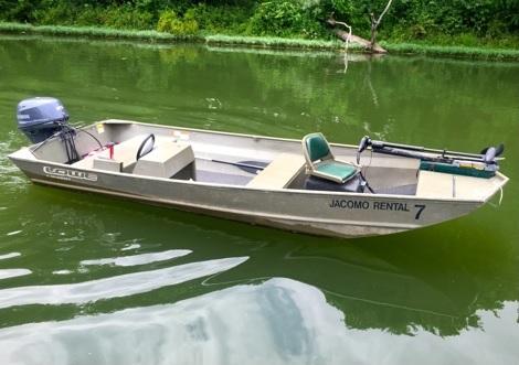 Lake Jacomo Marina - Jon Boat w/ Trolling Motor